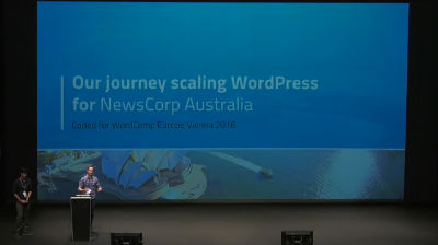 Juan Zapata & Dion Beetson: How NewsCorp Australia scaled WordPress to host Australias largest news websites on WordPress VIP