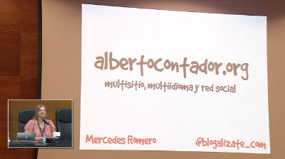 Mercedes Romero: AlbertoContador.org – WordPress multisitio, multiidioma y red social