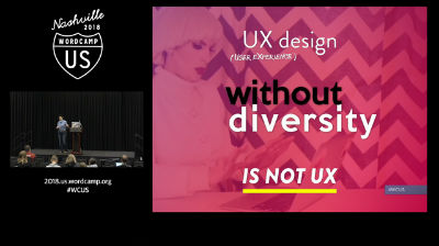 Tracy Apps: UX design without diversity is not UX