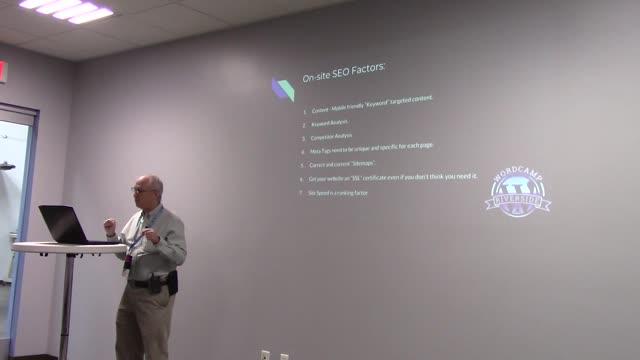 Bill Dalessi: SEO for WordPress developers