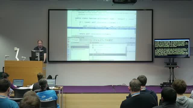 Derick Rethans: Debugging – Past, Present and Future