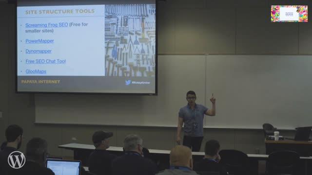 Bobby Kircher: Site Structure for WordPress