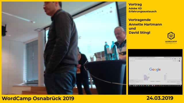Annette Hartmann, David Stingl: Adobe XD Erfahrungsaustausch