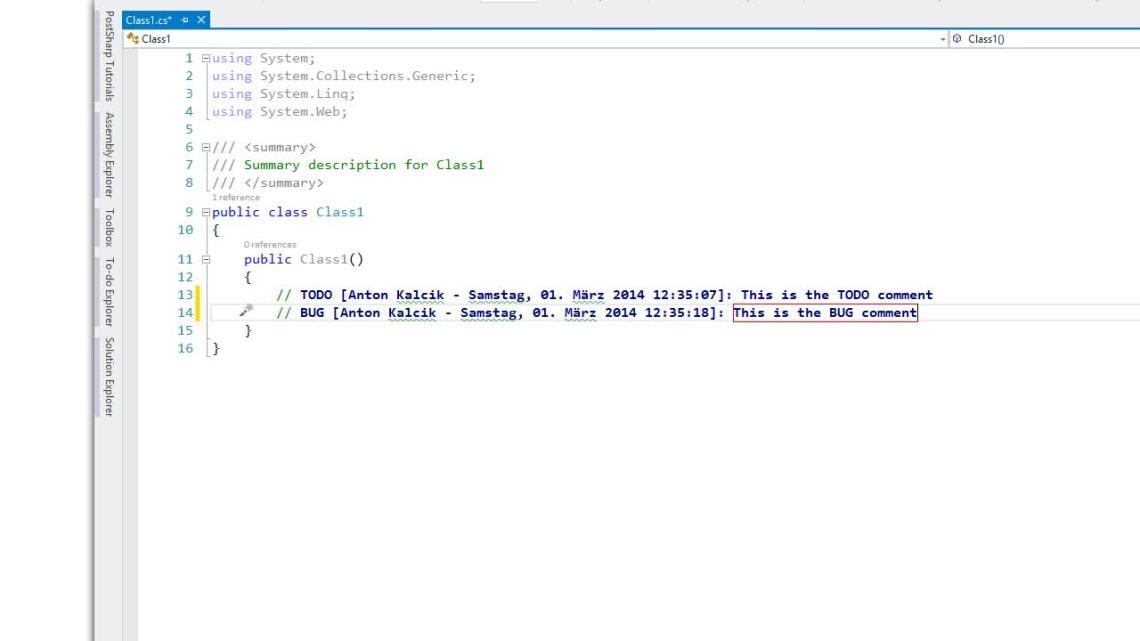 Demo ReSharper templates