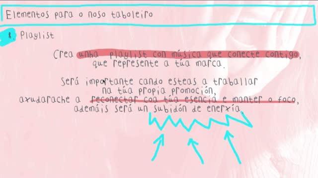 Mónica Fragueiro: Elaboración dun moodboard como ferramenta estratéxica para definir a marca persoal
