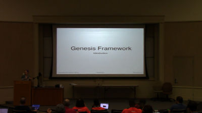 Andrea Rennick: Genesis Mini-Workshop (Part 1)