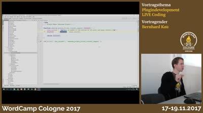 Bernhard Kau: Plugindevelopment LIVE Coding