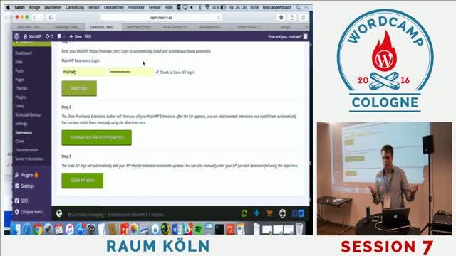 Nils Lappenbusch: Optimierung und Automatisierung des WordPress Hosting