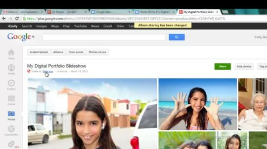 google sites how to add a photo slideshow ms computer teacher s blog
