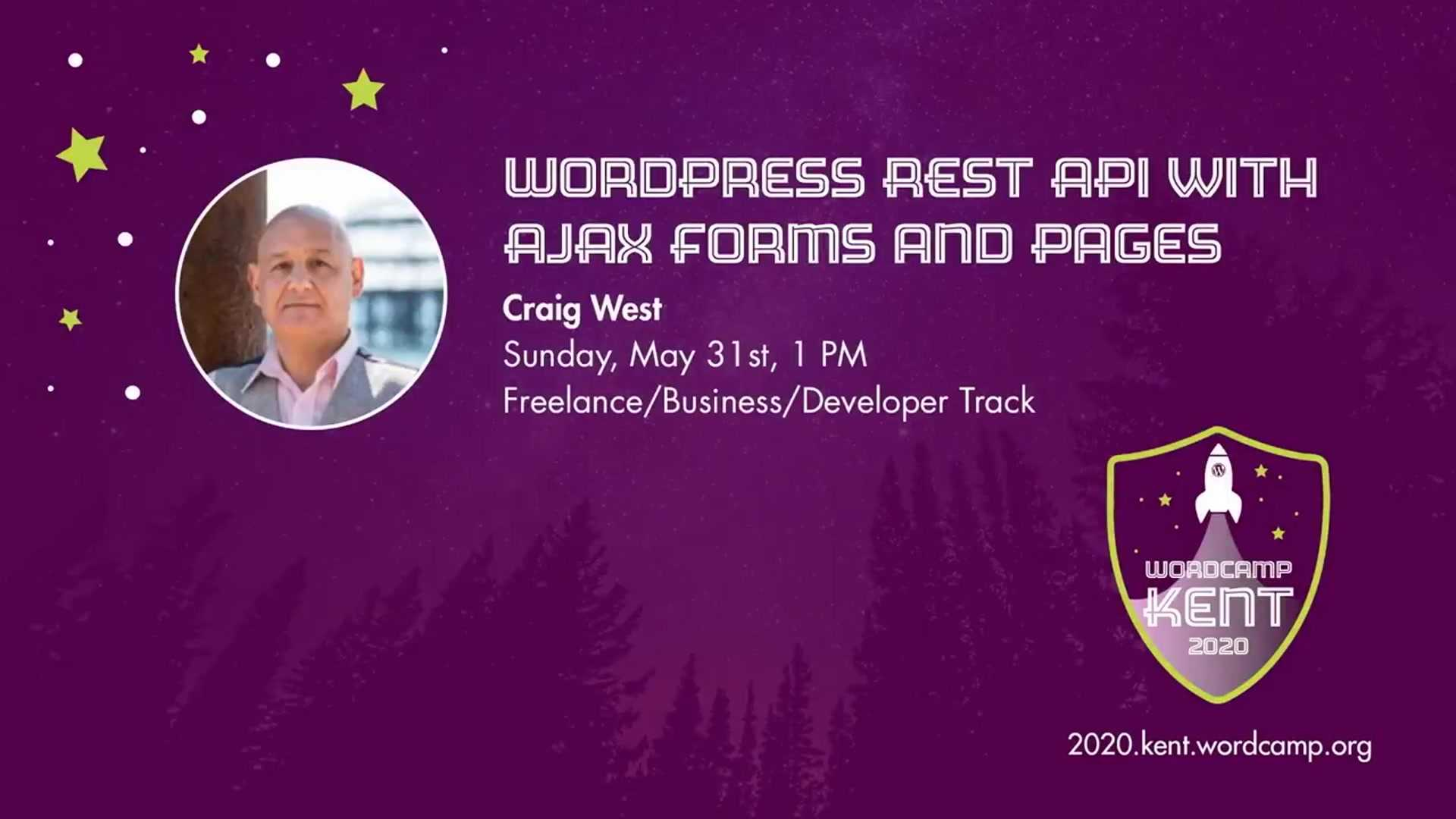 Craig West: WordPress REST API With AJAX Forms and Pages