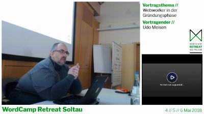 Udo Meisen: Webworker in der Gründungsphase