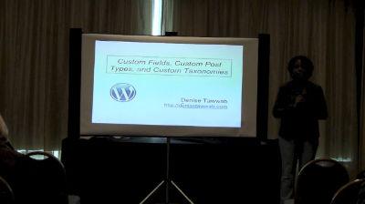 Denise Tawwab: Custom Post Types - A Case Study