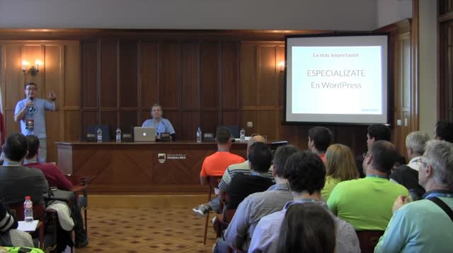 Roberto Miralles y Mercedes Romero: Emprender con WordPress