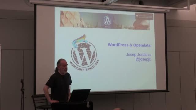 Josep Jornada: WordPress y Opendata