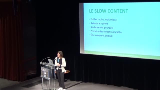 Anaelle Sorignet: Slow content : publier moins, publier mieux