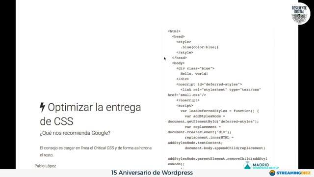 Pablo Lopez Mestre: Gestión avanzada de assets en WordPress
