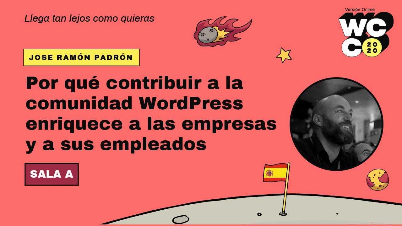José Ramón Padrón: Por qué contribuir a la comunidad WordPress enriquece a las empresas y a sus empleados