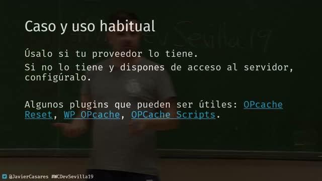 Javier Casares: Configura todas las cachés de WordPress