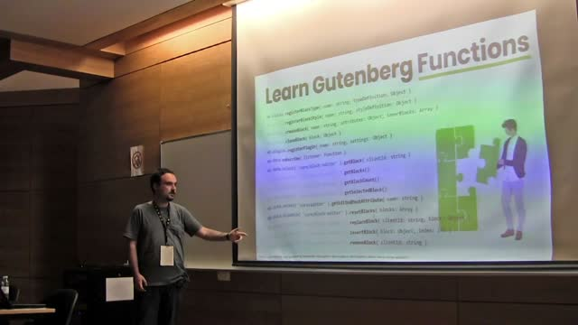 Antonio Villegas: Gutenberg for WordPress developers that had no time to learn JavaScript deeply