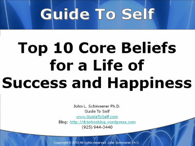 list of core beliefs pdf
