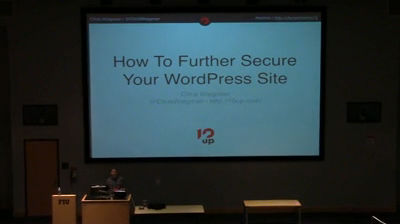 Chris Wiegman: How to Take Your WordPress Site Security to the Next Level
