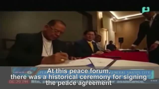 Man Hee Lee Mindanao Philippines News Hwpl Peace Completion