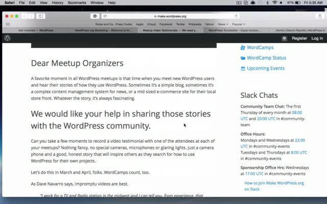 WordPress TV Shortz Episode 14