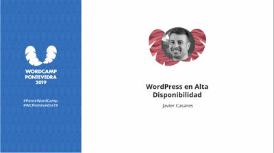 Javier Casares: WordPress en Alta Disponibilidad