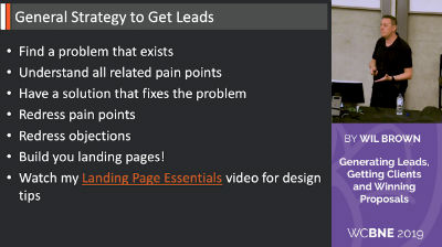 Wil Brown: Generating Leads, Getting Clients and Winning Proposals