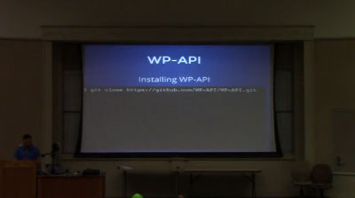 Justin Sainton: Intro to WP-API