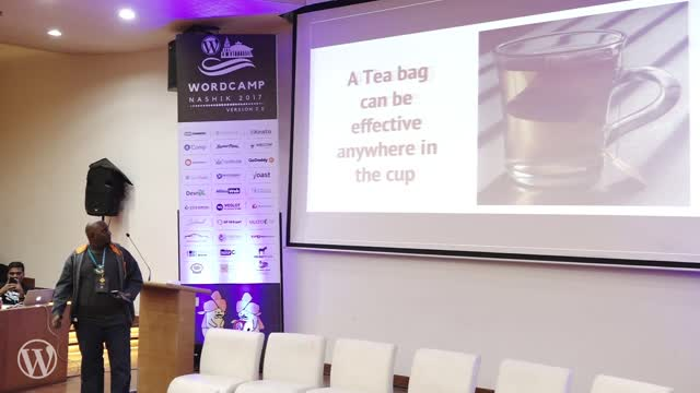 Alexander Gounder: Leadership lessons for Community organisers with the anology of a Tea Bag.