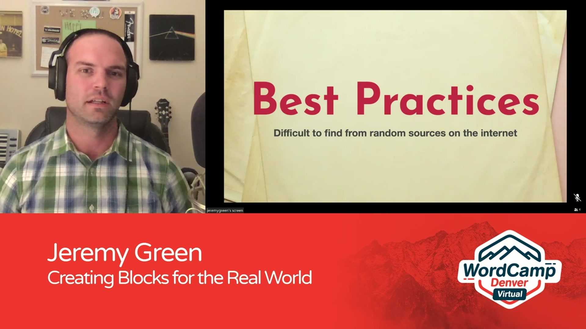 Jeremy Green: Creating Blocks for the Real World