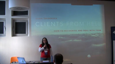 Kasia Świderska: Clients From Hell – How To Recognize And Deal With Them