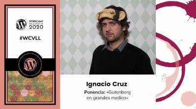 Ignacio Cruz: Gutenberg en grandes medios