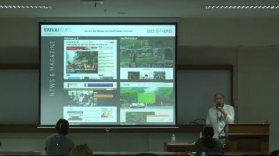 Warong Lupaiboon: WordPress กับเว็บคอนเทนต์ จากโลกเก่าสู่สื่อใหม่