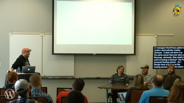 Aaron Reimann: Panel - Hosting Companies