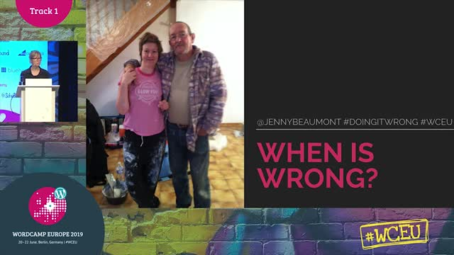 Jenny Beaumont: Doing it wrong