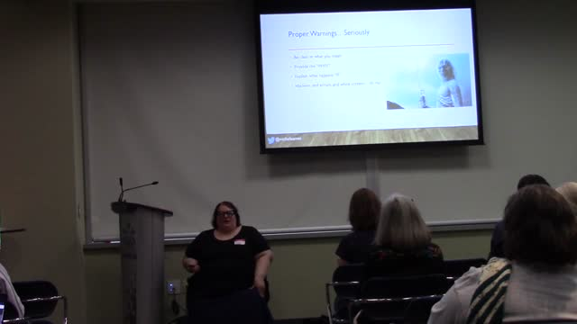 Michelle Ames: How to empower clients to use their websites - and client-proof them at the same time
