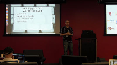 Justin Foell: Building your first plugin