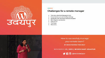 Bhagyashree Pancholy: How to Successfully Manage Your Remote Team