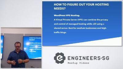 Shaan Nicol: How to Choose a WordPress Hosting Company - WordPress Singapore