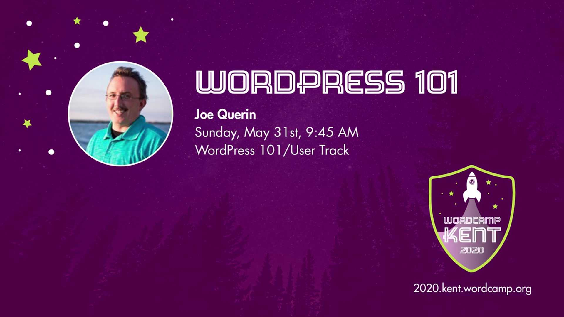 Joe Querin: WordPress 101 (Session One)