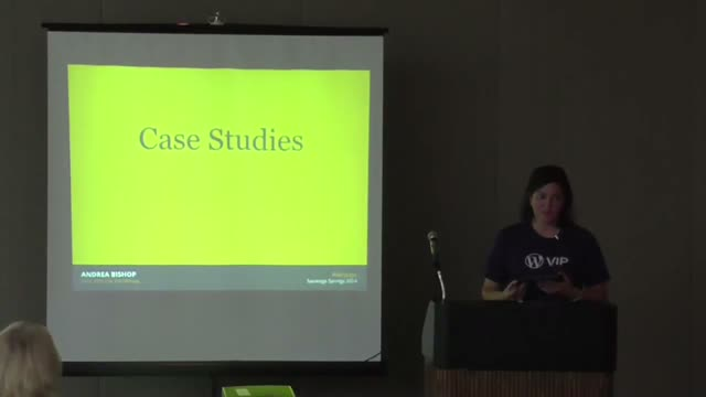Andrea Bishop: How Big Media and Enterprise VIPs Use WordPress