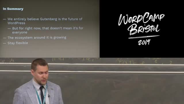 David Darke: Gutenberg | How a WordPress studio adapted
