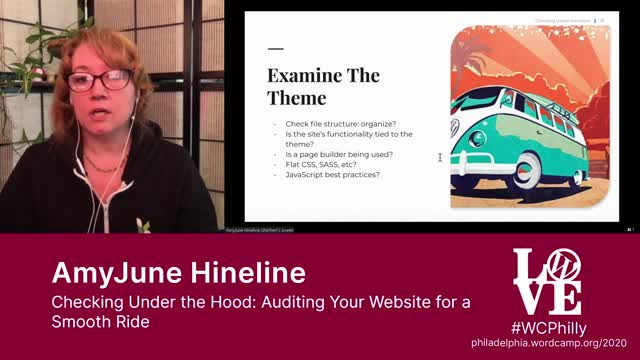 AmyJune Hineline: Checking Under the Hood - Auditing Your Website for a Smooth Ride