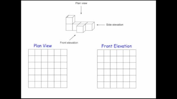 Plan Elevation Gcse : Views and elevations corbettmaths