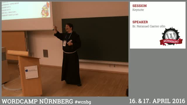 Br. Natanael Ganter ofm: Keynote – Wir wollen das schaffen!