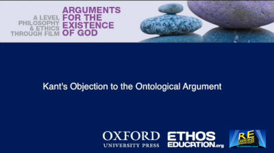 explanation of the objectoins to the ontological argument by kant and gaunilo essay The first critic of the ontological argument was anselm's contemporary, gaunilo of marmoutiers he used the analogy of a perfect island, suggesting that the ontological argument could be used to.