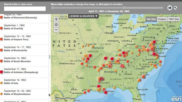 Interactive Civil War maps and digital storytelling tools | History Tech