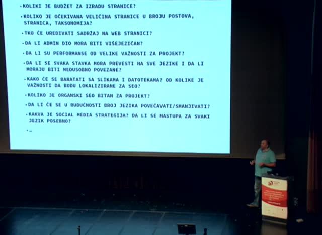 Goran Seric: WordPress i visejezicnost
